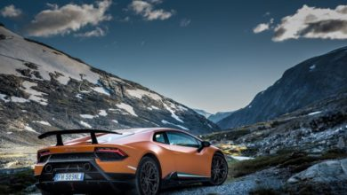 Photo of Lamborghini in Norvegia, mozzafiato!