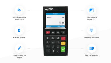 Photo of myPOS Go: Zero Canone e commissione fissa più bassa del mercato.
